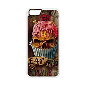 iPhone 6 Plus 5.5 Inch Cell Phone Case White UL13 Eat Me LSO7952600
