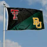 College Flags & Banners Co. Split Texas Tech