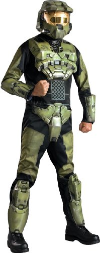 Halo 3 Deluxe Master Chief Costume With Helmet, X-Small -