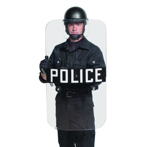 Premier Crown 3100S Torso Length Body Shield w/Sherrif Logo by Premier Crown
