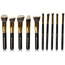 BH Cosmetics 10-Piece Sculpt and Blend Brush Set, 1 Count