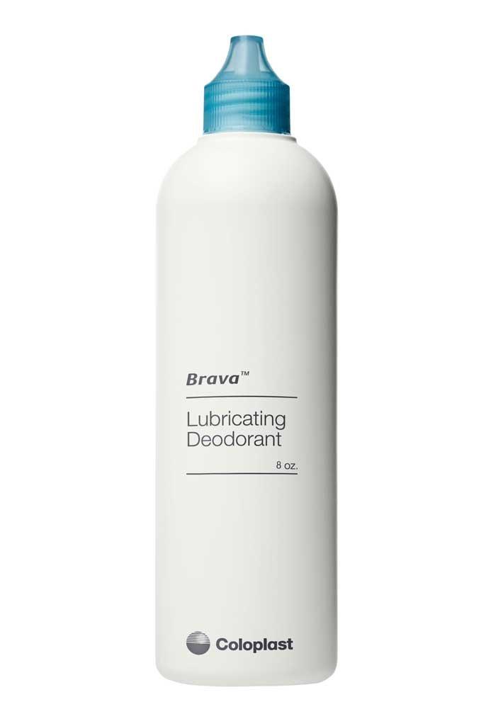 Brava Lubricating Deodorant For Ostomy Pouches, 8 Oz. 12061 (Case of 16)