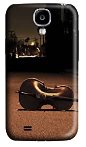Cello on the street Custom Samsung Galaxy S4 I9500 Case Cover ¨C Polycarbonate