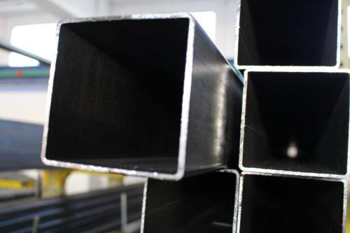 20X20X1.5 mm BARRA PROFILO SCATOLATO QUADRO IN FERRO LUNGHE 3 METRI 20X20X1.5 mm