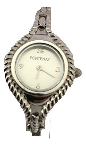 Reloj De Oval Cuarzo Mujer Pulsera Analógico Fontenay VUzMpSGq