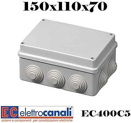 EFI EC400C5 Cassetta di Derivazione con Passacavi Grigio