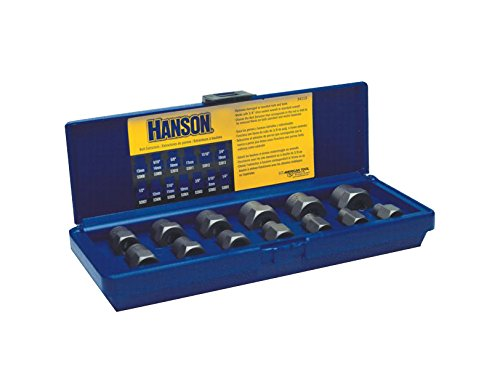 IRWIN HANSON Professional's Industrial Bolt Extractor Set, 13 Piece, 54113 (Bolt Professional)