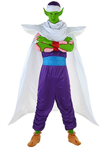 [Fun Costumes mens Dragon Ball Z Piccolo Costume Large] (Dragon Ball Z Costume For Adults)