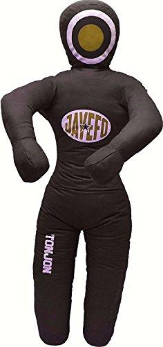 Jayefo TONJON MMA Grappling Dummy (Black/Yellow, 6 FT) ()