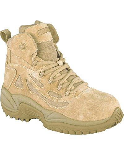 """Reebok Men's Stealth 6"""" Lace-Up With Side-Zip Tactical Wo..."""