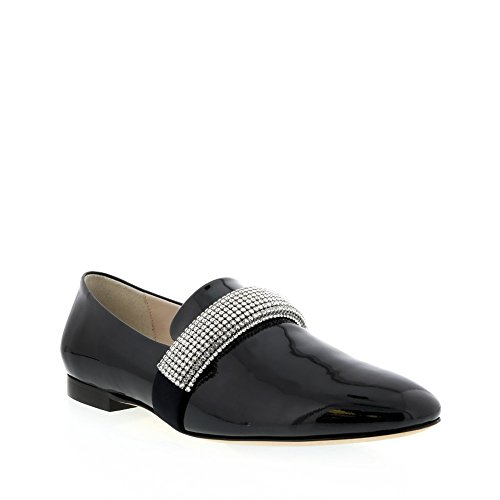 christopher-kane-navy-patent-leather-loafer-with-crystal-ornament-size-37