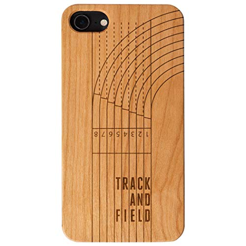 - Track & Field Engraved Wood iPhone 6/7/8 Case | Track & Field Lanes