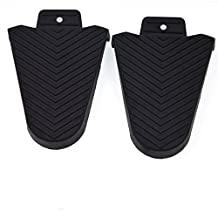 Bike Cycling Cleat Cover for Shimano SPD-SL Pedal Systems Rubber Cover (1 pair), iParaAiluRy