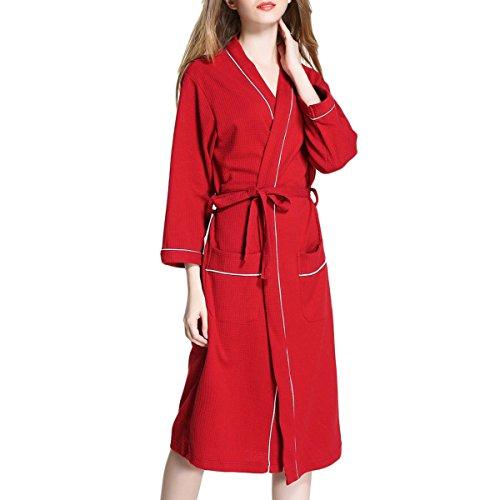 chic Albornoz De Las Mujeres Albornoces De La Pareja Albornoces Unisex  Kimono Nightwear Para Las Señoras c1f9ed28d948a