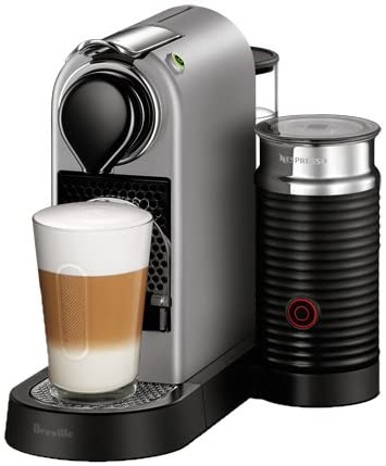 Breville-Nespresso USA BEC680SIL1BUC1 CitiZ and Milk Espresso Machine