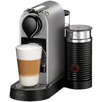 Nespresso CitiZ and Milk Espresso Machine by Breville, Silver