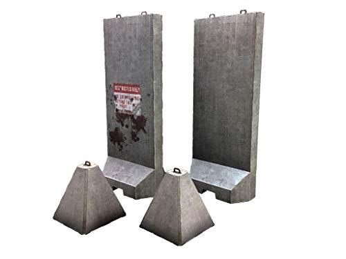 1/12 ペーパージオラマ バリケードセットA コンクリート(大) 「PEPATAMAシリーズ」の商品画像