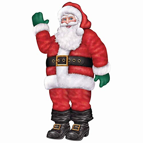 Jointed Santa Party Accessory (1 count) (1/Pkg) ()
