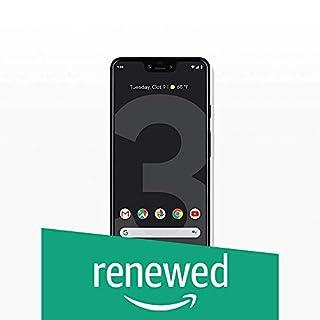 Google Pixel 3 XL Unlocked GSM/CDMA - US Warranty (Just Black, 128GB) (Renewed)