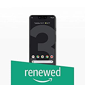 Google Pixel 3 XL Unlocked GSM/CDMA – US Warranty (Just Black, 128GB) (Renewed)