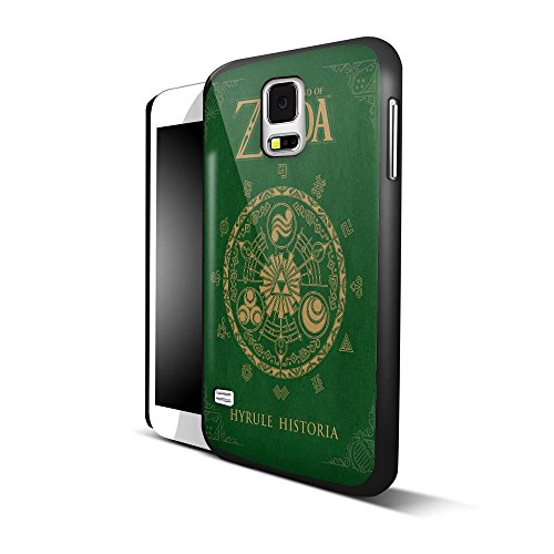 The Legend Of Zelda Hyrule Historia For IPhone And Samsung Galaxy Case Samsung Galaxy S5 Black