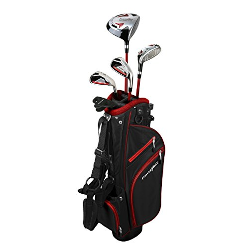 Powerbilt Boy's Ages 12+ Golf Series Set, Right Hand, Red