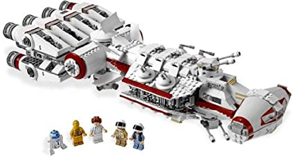 Amazoncom Lego Star Wars Tantive Iv 10198 Toys Games