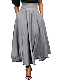 2018 Newly Everyone Love Skirt,Newly Pleated Long Skirt...