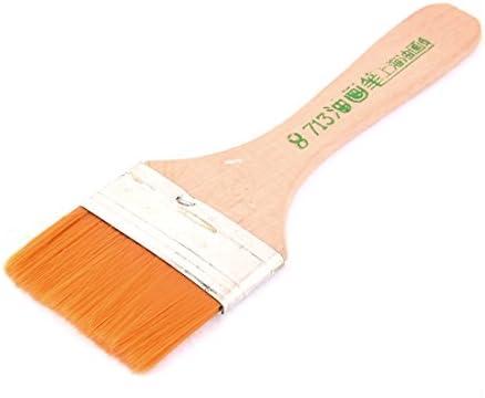 uxcell ペイントブラシ 油絵筆 ブラシ 水彩筆 滑らか 高品質 大人気 画材具 絵画き 画材筆