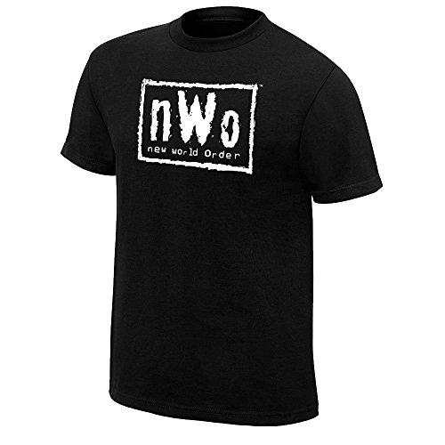 "Original WWE Authentic Shirt "" nWo - New World Order Logo "" Gr. M"