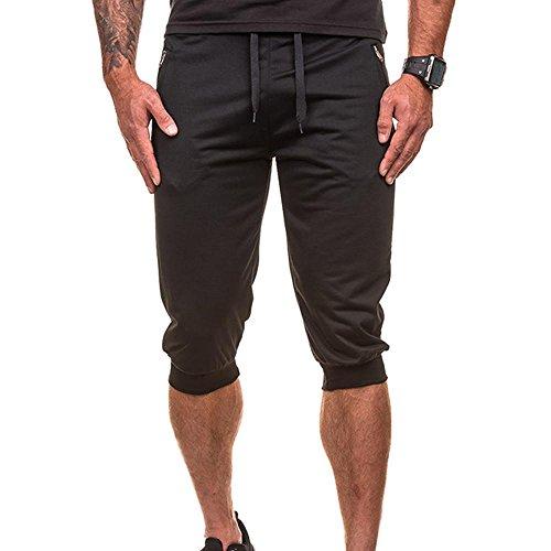 Plus Size,Mens Summer Short Pants,Todaies Mens Casual Jogger Dance Sportwear Baggy Harem Pants Slacks Trousers Sweatpants (XL, ()