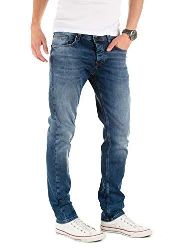 Hombre ensign Pantalones Para Blue Vaqueros Slim Alistar Azul Jeans Wotega 194026 w1Ctq