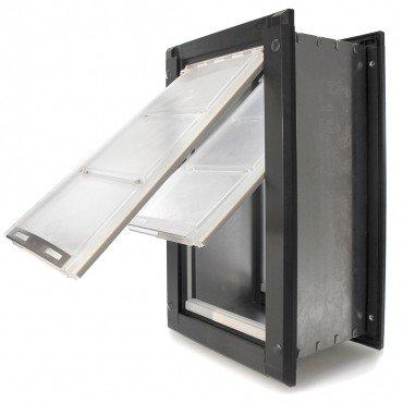 Endura Flap Double Flap Wall Mount Pet Door (Large   Double Flap   10u0026quot;