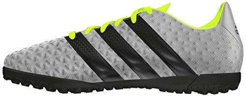 adidas Ace 16.4 Tf J, Botas de Fútbol para Niños Plata (Plamet / Negbas / Amasol)