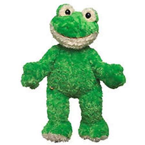 - Build A Bear Soft Green and Cream Color Plush Frog - 20 Inches