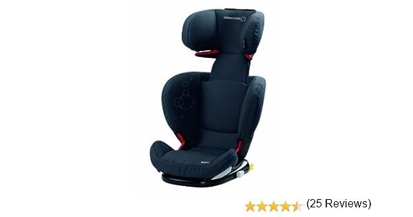 Bébé Confort Rodifix Total Black - Silla de coche Grupo 2/3 Isofix (Dorel): Amazon.es: Bebé