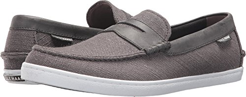Cole Haan Mens Pinch Weekender Textile Grey Slubby Canvas 13 D - Medium