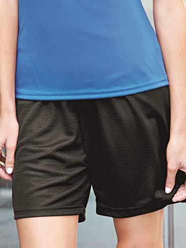Badger Women's 5″ Athletic Cut Tricot Liner Mesh Short – DiZiSports Store