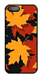 Case For Sam Sung Note 2 Cover Nature Autumn Leaves 2 PC Custom Case For Sam Sung Note 2 Cover Cover Black