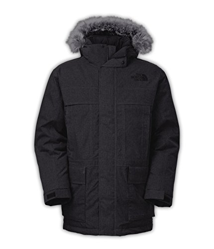 Mcmurdo Down Parka (The North Face Men's MCMURDO PARKA II Cardinal Heather)