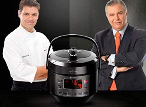 LUFTHOUS Robot de Cocina Cook Maker Premium, 3D Induction, Sergio FERNÁNDEZ: Amazon.es