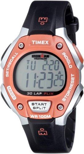 Timex Men's T5K311 Ironman 30-Lap Resin Strap Digital Watch 100 Lap Flix Sports Watch