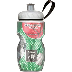 Polar Bottle Insulated Water Bottle (Play Ball) (12 oz) - 100% BPA-Free Water Bottle - Perfect Cycling or Sports Water Bottle - Dishwasher & Freezer Safe
