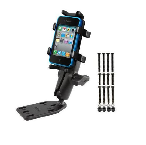 Heavy Duty Brake Clutch Cover Motorcycle Universal Mount Holder for Smart Phones