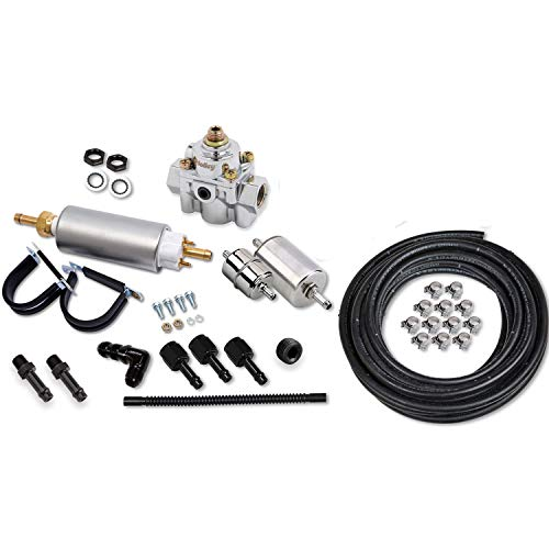 Holley 526-12 EFI Fuel Hose Plumbing Kit Used in Sniper Quadrajet Systems 20 ()