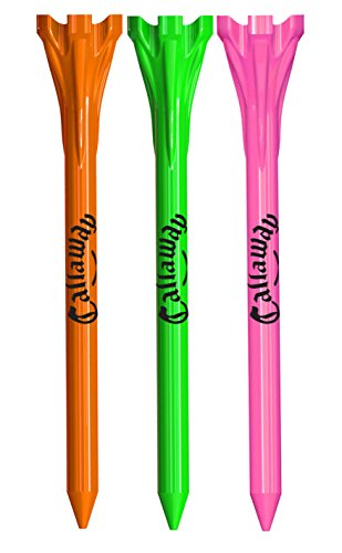 Callaway Performance Tees, 2 3/4 Inch - Neon mix,30 -