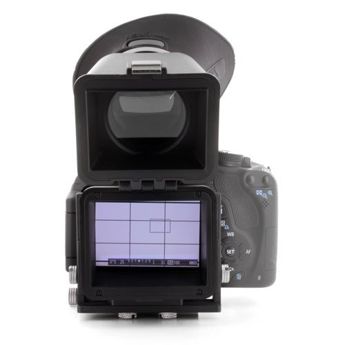 GGS Swivi HD DSLR LCD Universal Foldable Viewfinder Version II with 3.0X Magnification