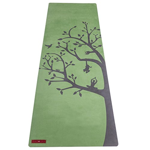 Peace Yoga Microfiber Top Hot Yoga Mat Tree