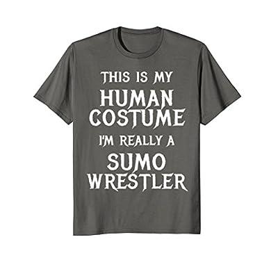 Funny Sumo Wrestler Halloween Costume Shirt Men Women Kids