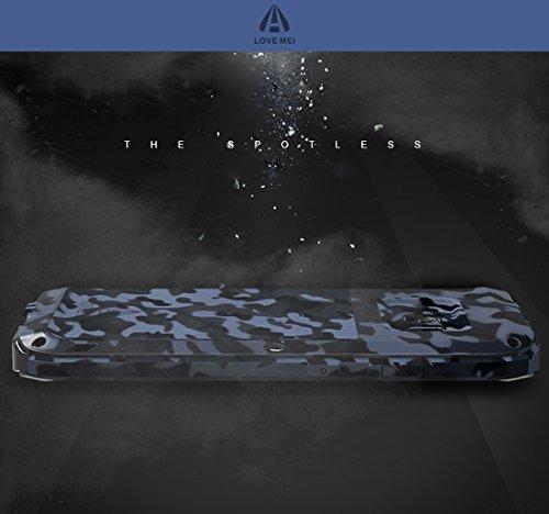 Samsung S8 Plus Funda, Love Mei Heavy Duty metal aluminio Carcasa Extreme Alta Resistencia Protector Shockproof a prueba de choques Cover para Samsung Galaxy S8 Plus 6.2 (City Camo) Jungle Camo